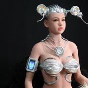 上海惊鸿机器人希腊女神人工智能机器人直饮系统Ula