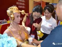 希腊女神直饮系统智能机器人Ula引爆2017第十五届郑州欧亚酒店用品博览会