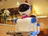 惊鸿送餐机器人亮相牡丹江【王酱面】旗舰店【热议话题】