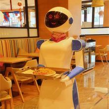 上海惊鸿机器人送餐机器人智能机器人机器人餐厅机器人服务员KYL-1