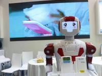惊鸿机器人站台人先医疗