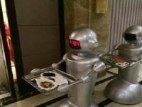 餐厅机器人服务于各大餐厅
