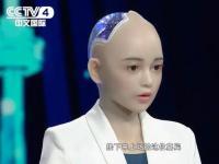 央视四套CCTV-4 《世界听我说》采访惊鸿仿真美女机器人优拉ULA