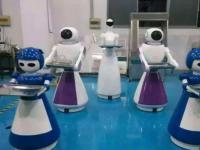 餐厅机器人常见四大功能以及未来如何发展