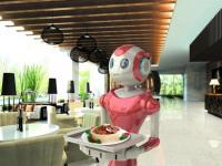 餐厅为什么选择智能送餐机器人及功能介绍