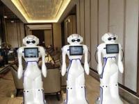迎宾机器人的优点与具备使用功能